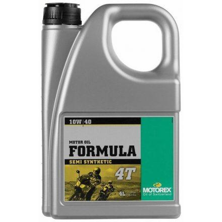 MOTOREX  Formula 4T 10W40  4 liter