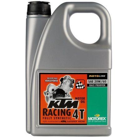 MOTOREX  KTM Racing 4T 20W60 4 liter