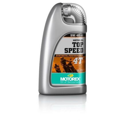 MOTOREX  Top Speed 4T  5W40 MA2 1 liter