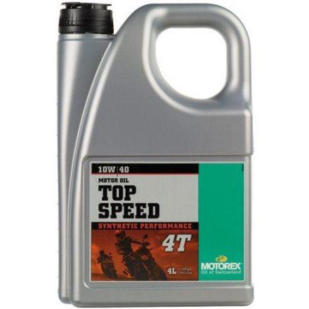MOTOREX  Top Speed 4T 10W40 MA2 4 liter